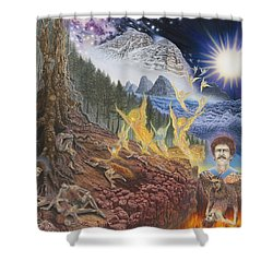 Diary Of First Recognition Shower Curtain