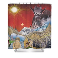 Diary Of Second Recognition Shower Curtain