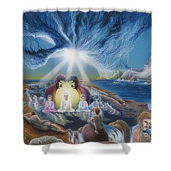 Diary Of Third Recognition Shower Curtain