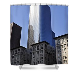 Dichotomy Shower Curtain by Clayton Bruster