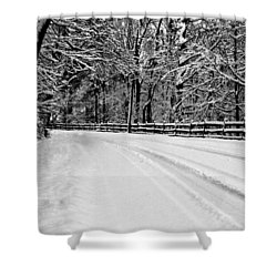 Dicksons Mill Road Shower Curtain