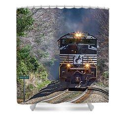 Diesel Engine Ns 2722 Shower Curtain