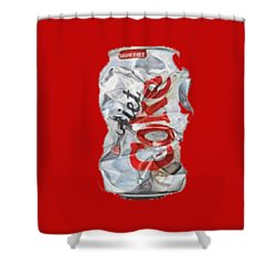 Diet Coke T-shirt Shower Curtain