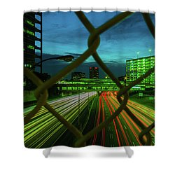 Different Is Ok Shower Curtain