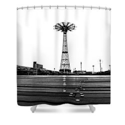 Different Mentality Shower Curtain