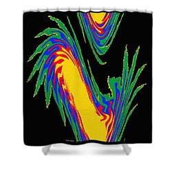 Digital Art 10 Shower Curtain
