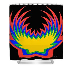 Digital Art 14 Shower Curtain