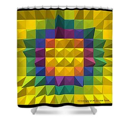 Digital Art 5 Shower Curtain
