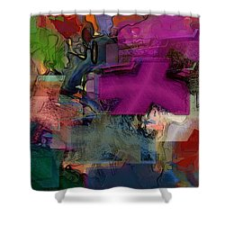 Digital Fun No.1 Shower Curtain