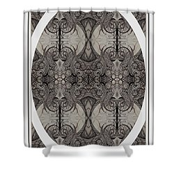 Shower Curtain featuring the photograph Digitized Ballpoint Image Twenty One by Jack Dillhunt