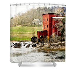 Shower Curtain featuring the photograph Dillard Mill 4 by Marty Koch