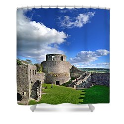 Dinefwr Castle 1 Shower Curtain