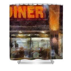 Diner Shower Curtain by Francesa Miller