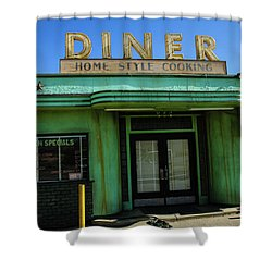 Diner Shower Curtain