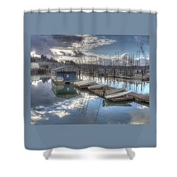 Dinghies For Rent Shower Curtain