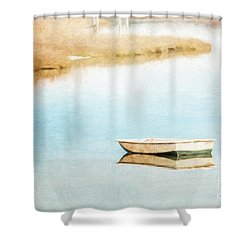 Dinghy In Eastham Shower Curtain