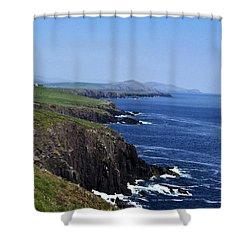 Dingle Coast Near Fahan Ireland Shower Curtain