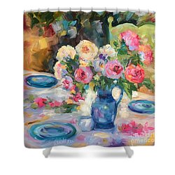 Dining Alfresco Shower Curtain
