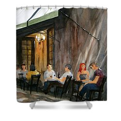 Dinning L'fresco Shower Curtain