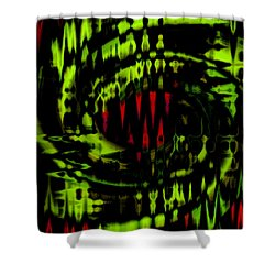 Dino Shower Curtain by Cherie Duran