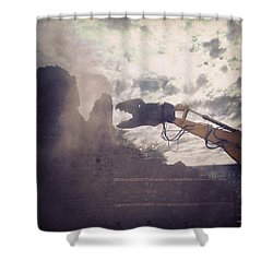 Dinosauri Shower Curtain