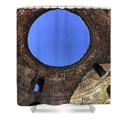 Diocletian Palace In Split, Croatia  Shower Curtain