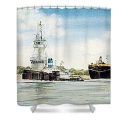 Diplomat Shower Curtain by P Anthony Visco