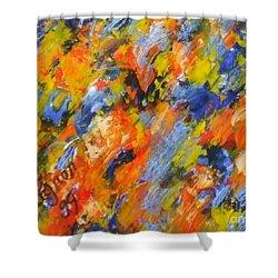 Diptych Part 2 Shower Curtain