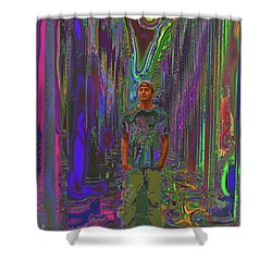 Director - Ramon Garcia Shower Curtain