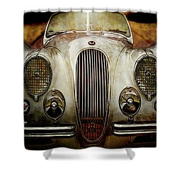 Dirt Track  Shower Curtain