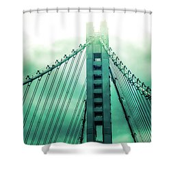 Disappearing Shower Curtain
