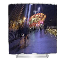 Shower Curtain featuring the photograph Disassembly by Alex Lapidus