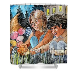 Discovering Heloise O'lantern Shower Curtain