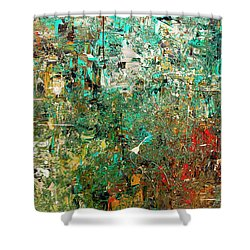 Discovery - Abstract Art Shower Curtain