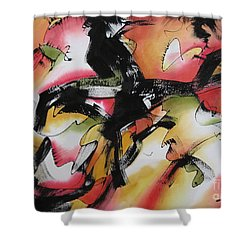 Discovery Shower Curtain by Deborah Ronglien