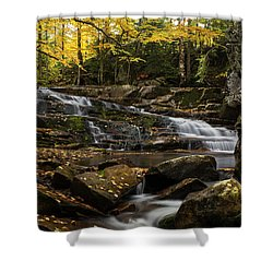 Discovery Falls Autumn Shower Curtain