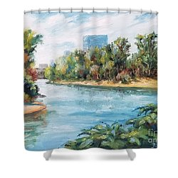Discovery Park Shower Curtain