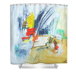 Discovery Three Shower Curtain