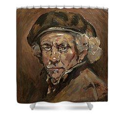 Disguised As Rembrandt Van Rijn Shower Curtain