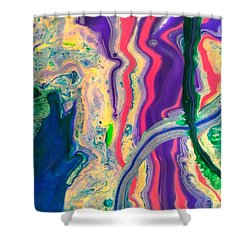 Disillusioned Shower Curtain