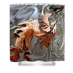 Disintegration  Shower Curtain