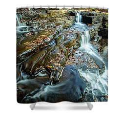 Dismal Creek Falls #2 Shower Curtain