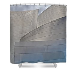Shower Curtain featuring the photograph Disney Concert Hall by Kim Wilson