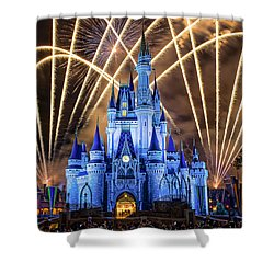 Disney World Shower Curtain