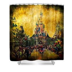 Disney World Shower Curtain