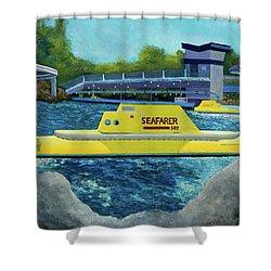 Disneyland Finding Nemo Submarine Voyage Shower Curtain