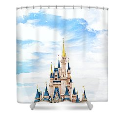 Disneyland Shower Curtain by Happy Home Artistry