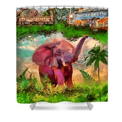 Disney's Jungle Cruise Shower Curtain