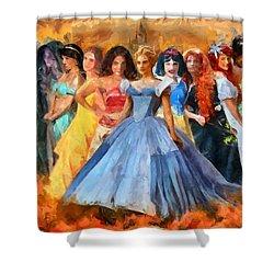 Disney's Princesses Shower Curtain
