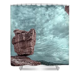 Disparate Colors  Shower Curtain